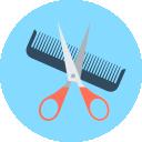 Les salons de coiffure picto coiffure