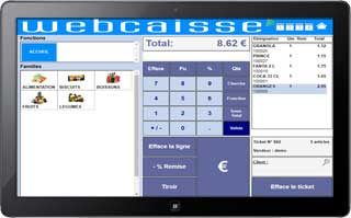 logiciel de caisse illustration webcaisse tablette